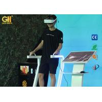 China Safety VR Theme Park 9D Virtual Reality Standing Up Simulator For Movie Theater wholesale