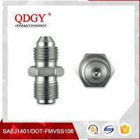 China BLEED NIPPLE FITTING MALE TO MALE RESTRICTOR ADAPTER 7/16 X 20 UNF (-4 JIC) TO 7/16 X 24 GARRETT GT  SERIES TURBO wholesale