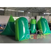 China Inflatable Dorito / Temples Paintball Custom Inflatable Paintball Airball Bunkers wholesale