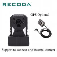 China Police Handy Recorder Wireless Body Worn Camera 140 Degree Lens Angle 1296P Fire Resistant wholesale