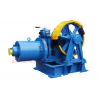 China VVVF Lift Traction Machine Traction Elevator Components , Right Sheave Position wholesale