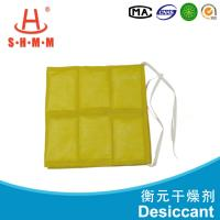 China 200% Absorption Capacity Effective Container Desiccant Bag For Reducing Air Humidity wholesale