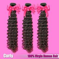 China Indian/Mongolian Curly Virgin Hair,Deep Curly,Kinky Curly Virgin Human Hair Weave,12-30inches Free Shipping wholesale