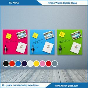 Magnetic Glass Whiteboard, Dry-Erase Board