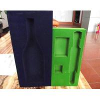 China Odorless recycled flocking self adhesive insulation foam package wholesale