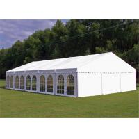 China 15x30m Outdoor Event Tents Wooden Floor Air Conditioner For 600 People wholesale