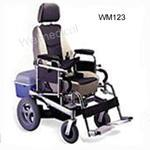 WM123 Steel Wheelchair