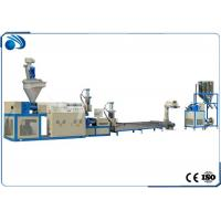 China Double Stage Plastic Recycling Line Pelletizing Equipment For PP PE PS Scraps 100~500kg/h wholesale