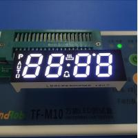China Ultra White Custom LED Display , Seven Segment Display Common Anode For Oven Timer wholesale
