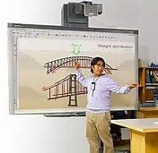 China New Interactive Touch Screen Smart Board , ROHS Classroom Interactive Whiteboard wholesale