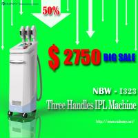 China Hottest Sale!! 50% discounts! 3 handles multifunctional home ipl removal age spots wholesale