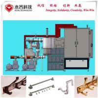 China Metal Clothes Hook Arc Ion Plating Machine High Vacuum Vertical Orientation on sale