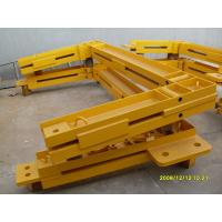 China Q345 Steel Structure Frame Potain Tower Crane Spare Parts For Anchor Frame wholesale