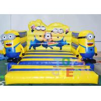 China Small Inflatable Combo Minions Bounce Castle Minions Bounce House Moonwalk wholesale