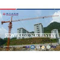 China QTZ80 series TC6010 6T Luffing jib tower crane , top slewing tower crane wholesale