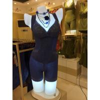Buy cheap Fahion v-neck lace fabric bodysuit from wholesalers