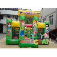 China Colorful Commercial Inflatable Bounce House Jumping For Toddlers wholesale