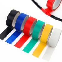 China Splice and insulate wires up to 600V Electrical Tape ,0.18mm thick ,various color wholesale