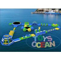 China Ultimate Huge Inflatable Water Park For Lake Floating Customized wholesale