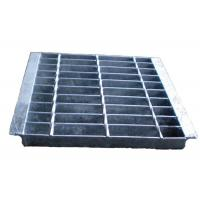 China Electroforged Steel Grate Drain Cover , Galvanised Steel Grate And Frame wholesale