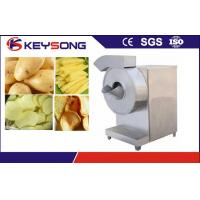 China 380v / 220v  65kw Potato Chips Making Machine / Cutter High Automation 100-150kg / H Output wholesale