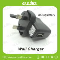 China E-cigarette Accessory Charger Wall Charger AC Adaptor UK standard wholesale