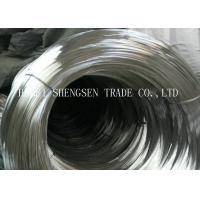 China 0.56mm Low Carbon Zinc Coated Steel Wire Hot Dipped Galvanized Flat Type wholesale