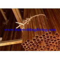 China Round Seamless Copper Tube With ASTM B42 For Air Conditioning wholesale