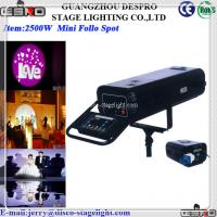 Buy cheap Event 1200W 2500W Power Follow Spot Stage light Equipment from wholesalers