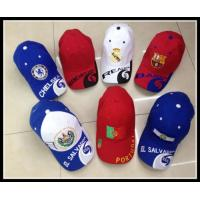 China Promotional Custom 100% cotton Embroidery logo Baseball Cap /Sports Caps wholesale