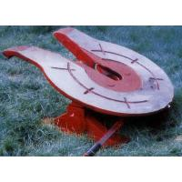 China Large Tonnage Cast Steel And Traction Seat Heavy Duty 150mm Mounting Height wholesale