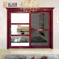 China Elegant Styled Sliding Security Screen Doors For Animal Entry Prevention Model: 132 on sale