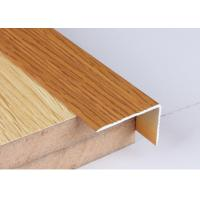 Quality Industrial 30 X 50 Aluminium Angle Profiles Wood Grain Transfer Printing for sale