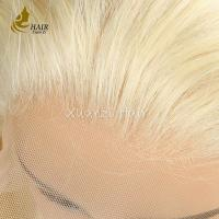 Quality Full Lace Blonde Wig Lace Font Wig Blonde Human Hair Lace Wigs Straight for sale
