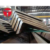 China Q235 SS400 Angle Steel Frame 75x75 Hot Rolled Unequal Angle Bar 6m-12m Length wholesale