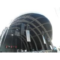 China Large Arc Stage Truss Alloy Aluminum Tube For Concert Performance wholesale