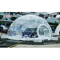 China Hot Sale Transparent Geodesic Round Dome Tent for Outdoor Event on sale