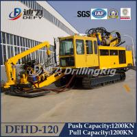 China 120T Horizontal Directional Drilling rig HDD machine Rig DFHD-120 wholesale