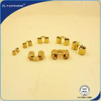 China High Strength Mini Concealed Hinges / Brass Cabinet Hinges Lightweight wholesale