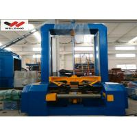 China VFD Spot Welding Speed Control H Beam Assembling Machine Automatic To Fix Flange And Web wholesale