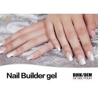 China 15ml UV / LED Nail Builder Gel Nail Gel Extensions Free Sample Available wholesale