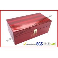 China High Glossy Printed Win Gift Box Locked System with Thermocol Plastic Tray wholesale