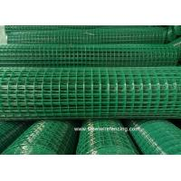 China 2 X 2 PVC Coated Welded Wire Mesh Roll Square Mesh Hole For Chicken Cage wholesale
