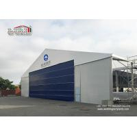 China High Reinforce Aluminum Military Aircraft Hangar Tent Width 20m Fire Protection wholesale