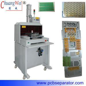 China Automatic Rigid PCB Punching Machine Pneumatic , CWPE on sale