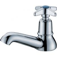 China Modern Design Ceramic Cartridge Single Cold Water Taps Brass for School / Hospital on sale