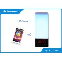 China RGB Led Lighting APP Bluetooth Speaker Touch Control For Bedroom wholesale
