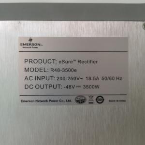 China Inverter / Converter Emerson Rectifier Module , Built In Fan Bridge Rectifier Module wholesale