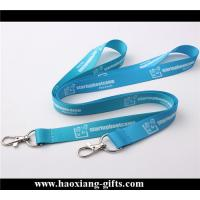China custom 20*900mm heat transfer printing lanyard with mobile phone strap/id card wholesale