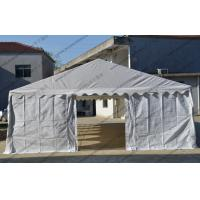 China Cheap 6x12M Steel tube White PVC Cover with Transparent Church Windows Outdoor Tent for Events and Parties wholesale